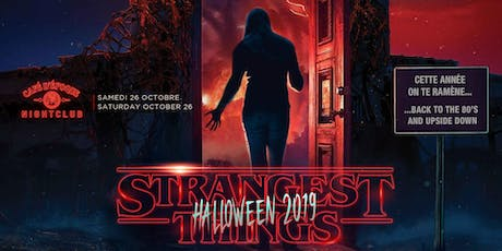 Strangest Things Halloween 2019 tickets
