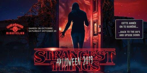 Strangest Things Halloween 2019