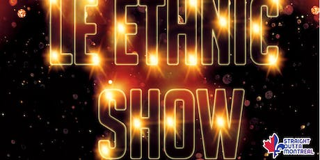Stand Up Comedy ( Ethnic Show ) Montreal Comedy club tickets
