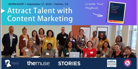 Workshop: Create Your Recruitment Marketing Content Playbook [Fairfax, VA] tickets