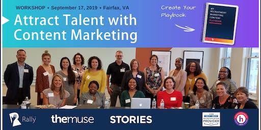 Workshop: Create Your Recruitment Marketing Content Playbook [Fairfax, VA]