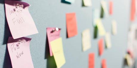 Workshop Business Model Canvas - Progettare il futuro dei progetti biglietti