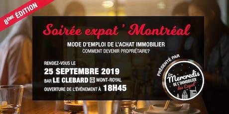 Expat' Montréal : comment devenir propriétaire ? 8ème édition tickets