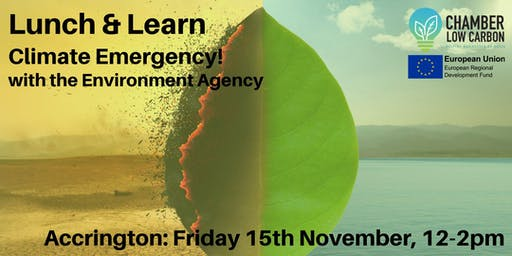 Low Carbon Lunch and Learn - Climate Emergency with The Environment Agency