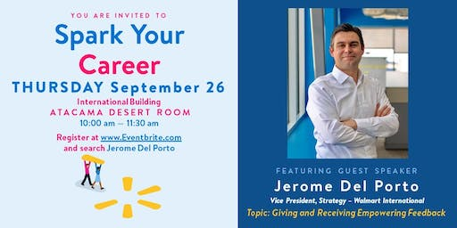 Spark Your Career with Jerome Del Porto