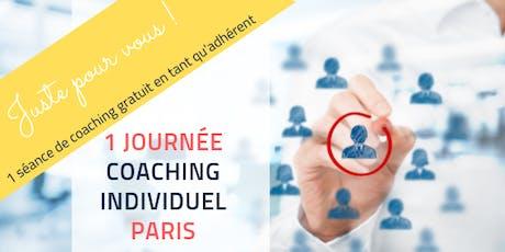 JOURNEE DE COACHING INDIVIDUEL -PARIS - SEANCE GRATUITE ADHERENT billets