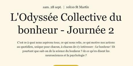 L'Odyssée Collective Journée 2 billets