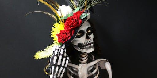 Make-up Workshop: Realistic Skull/Calavera Realista