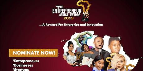 The Entrepreneur Africa Awards 2019 tickets