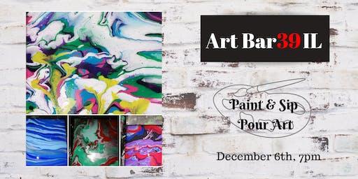 Pour Art Paint & Sip