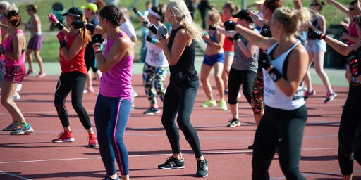 ATL WOMEN'S CARDIO KICKBOXING BLOCK PARTY!