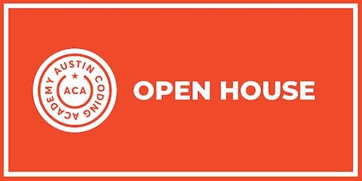 Austin Coding Academy | Open House | @ Capital Factory | 10.8.19