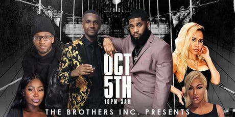 The Brothers Inc. Presents The All Black Affair tickets