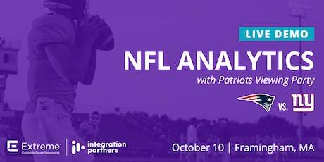 Extreme NFL Analytics Live Demo | Framingham, MA tickets