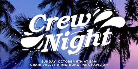 Crew Night tickets
