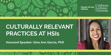 Culturally Relevant Practices at HSIs tickets