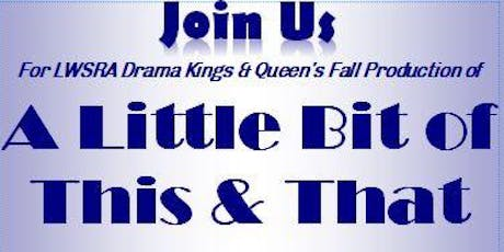 Drama Kings & Queens Fall performance (Saturday, November 23, 2019) tickets