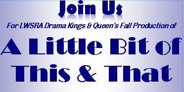 Drama Kings & Queens Fall performance (Saturday, November 23, 2019)