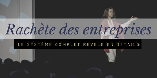 """Atelier """"Achat d'Entreprise""""  avec Margaux Klein"""