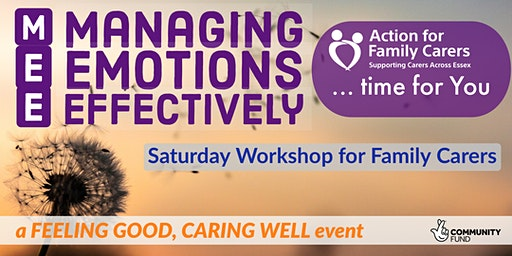 CHELMSFORD - MANAGING EMOTIONS EFFECTIVELY