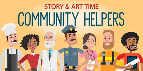 Community Helpers Story & Art Time tickets