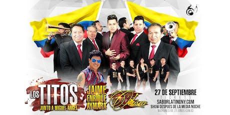 LosTitos, Jaime Enrique Aymara y Odisea tickets