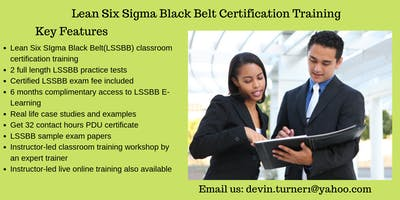 LSSBB Training in Columbia, SC