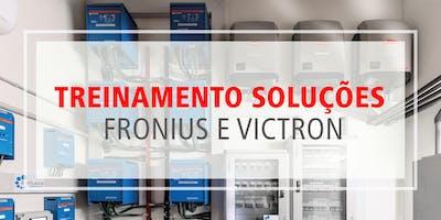 Treinamento Soluções Victron e Fronius