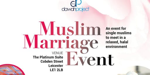 Muslim Marriage Event in Leicester