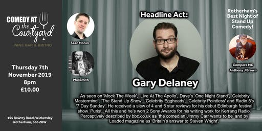 Comedy Night with Gary Delaney