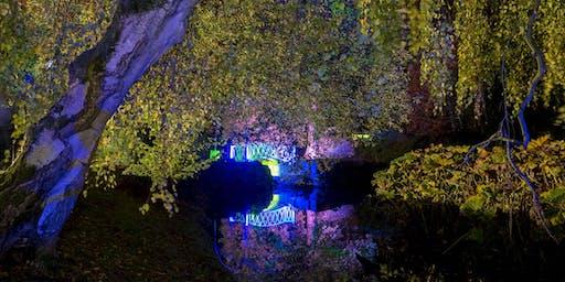 The Swiss Garden at Night