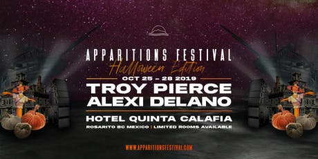 APPARITIONS FESTIVAL 2019 - HALLOWEEN WEEKEND boletos