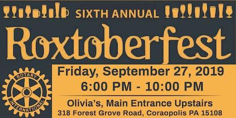 6th Annual Roxtoberfest 2019 Fundraiser tickets