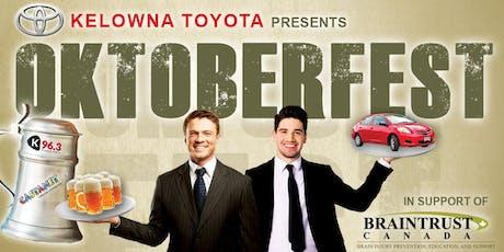 OKTOBERFEST COMES TO KELOWNA tickets