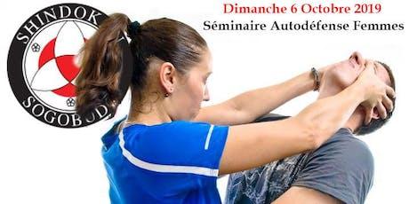 Cours Autodéfense pour Femmes: Dimanche 6 Octobre 2019 billets