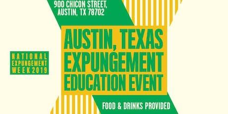 National Expungement Week - Austin tickets