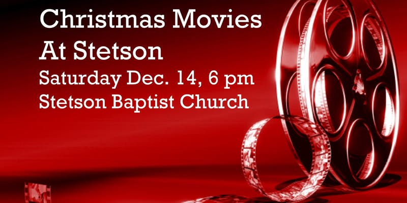 Christmas Movies at Stetson