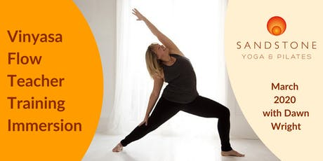 Vinyasa Flow Teacher Training Immersion tickets