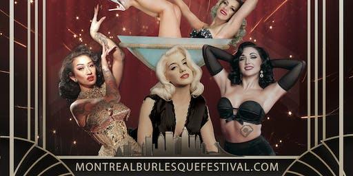 Montreal Burlesque Festival Workshops/Ateliers