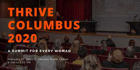 Thrive Columbus 2020 tickets
