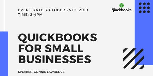 QuickBooks for Small Businesses (Seminar / Workshop)