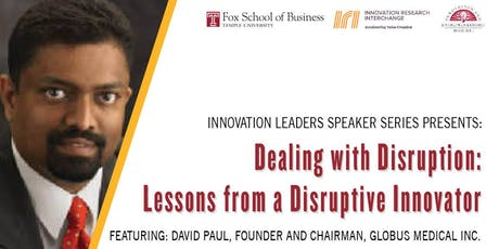 Dealing with Disruption: Lessons from a Disruptive Innovator tickets