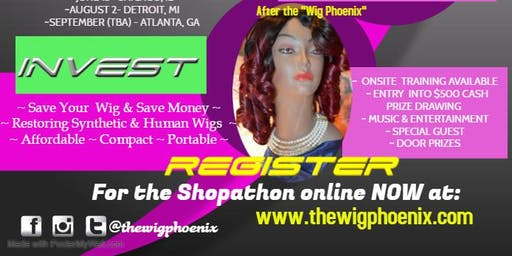 THE WIG PHOENIX SHOPATHON TOUR  (NEW ORLEANS)
