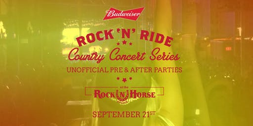 Rock 'N' Ride Unofficial  After Party + Party bus