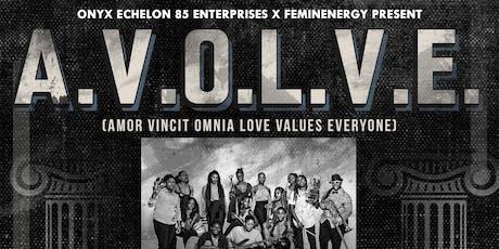 A.V.O.L.V.E: Amor Vincit Omnia Love Values Everyone tickets