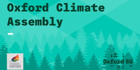 Oxford Climate Assembly tickets