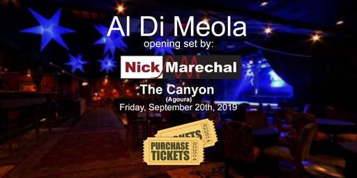 Nick Marechal opening for Al Di Meola