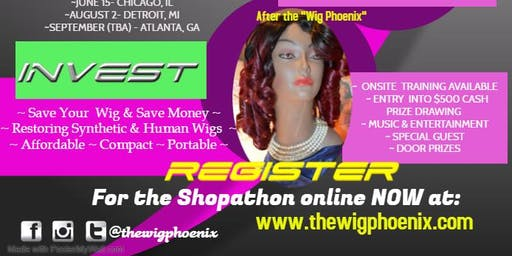 THE WIG PHOENIX SHOPATHON TOUR  (CHICAGO)