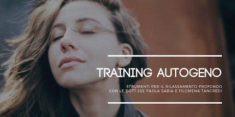 Training Autogeno Relazionale biglietti