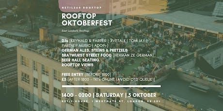 Rooftop Oktoberfest  [London Fields | 1400 - 0200 | Saturday | 5 Oktober] tickets